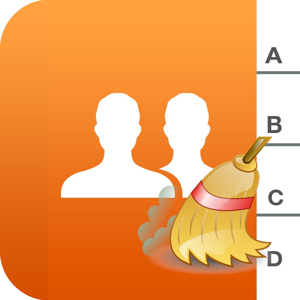 Cleaner – 連絡先を重複削除 アドレス帳、iCloudには、Gmail、YahooやOutlookの Free